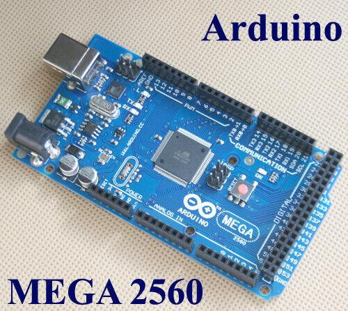 Mega 2560 R3 ATmega2560-16AU Platte AVR Board für Arduino Schwarz Deutsche Post