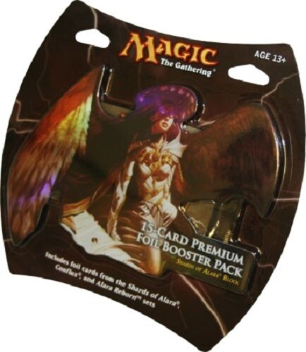 MTG Magic 15 Cards Sealed PREMIUM FOIL BOOSTER PACK SHARDS OF ALARA BLOCK