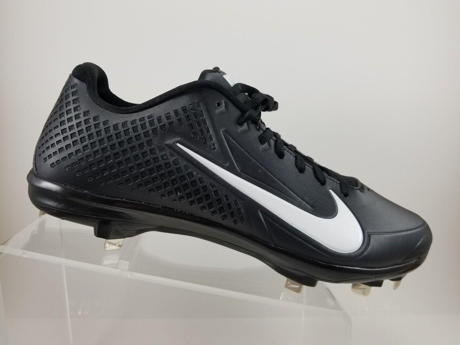 Nike Vapor Elite Black Lace Up Baseball Cleats shoes Mens 12M 538533-010