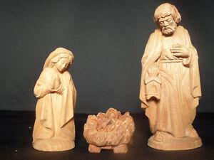Krippenfiguren Handgeschnitzt handgeschnitzte zirbelkiefer krippenfiguren hl.familie 12 cm natur
