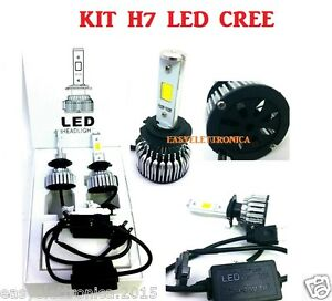 kit auto cree led h7 6500k 25 watt centraline slim da 2500. Black Bedroom Furniture Sets. Home Design Ideas