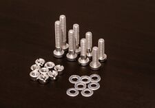 Universal Turntable Headshell Cartridge Mounting Kit, Screws,Bolts,Nuts, Washers