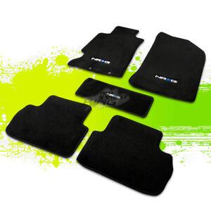 Nrg Logo 5pc Fiber Nylon Plush Floor Car Mat Carpet For 02
