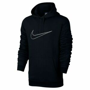 Details about *NEW* Mens Nike Hoodie Hoody Swoosh Tick Fleece Pullover Sweatshirt Jumper