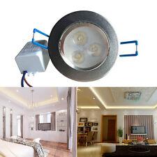 6X3W LED Spot Einbauleuchte Einbau Strahler Set Decken Leuchte Lampe --Kaltweiß