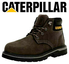Cat Caterpillar Outbase Steel Toe Work Construction Boots Mens Size 13m Gray New