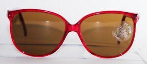 Vendu VUARNET lunettes de soleil Pouilloux 467 Rouge Vintage Rare mineral lentilles Px2000