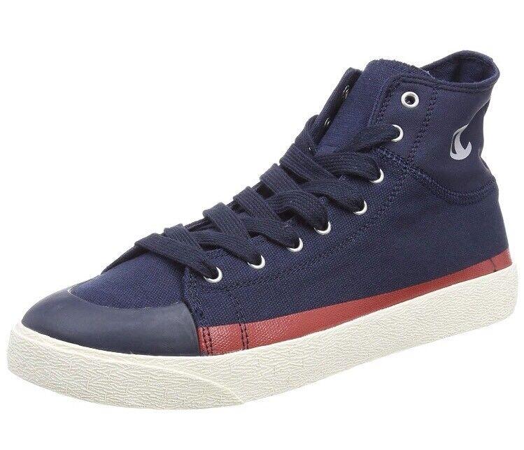 Champion Men's Cut shoes C29 Mid Hi-Top Trainers bluee New Navy Bs50  EU44