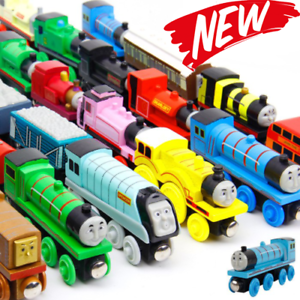 Details About Thomas And Friends Anime Wooden Railway Trainsthomas Trains Model Edw