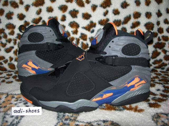 804d1d176e3 Nike Air Jordan 8 Retro Phoenix Suns UK 11 5 Us12 5 Oreo 305381-043 ...