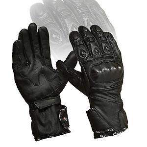 Noir-PHALANGES-CARBONE-PROTECTION-ventile-ete-MOTO-articulations-coussinets-Moto