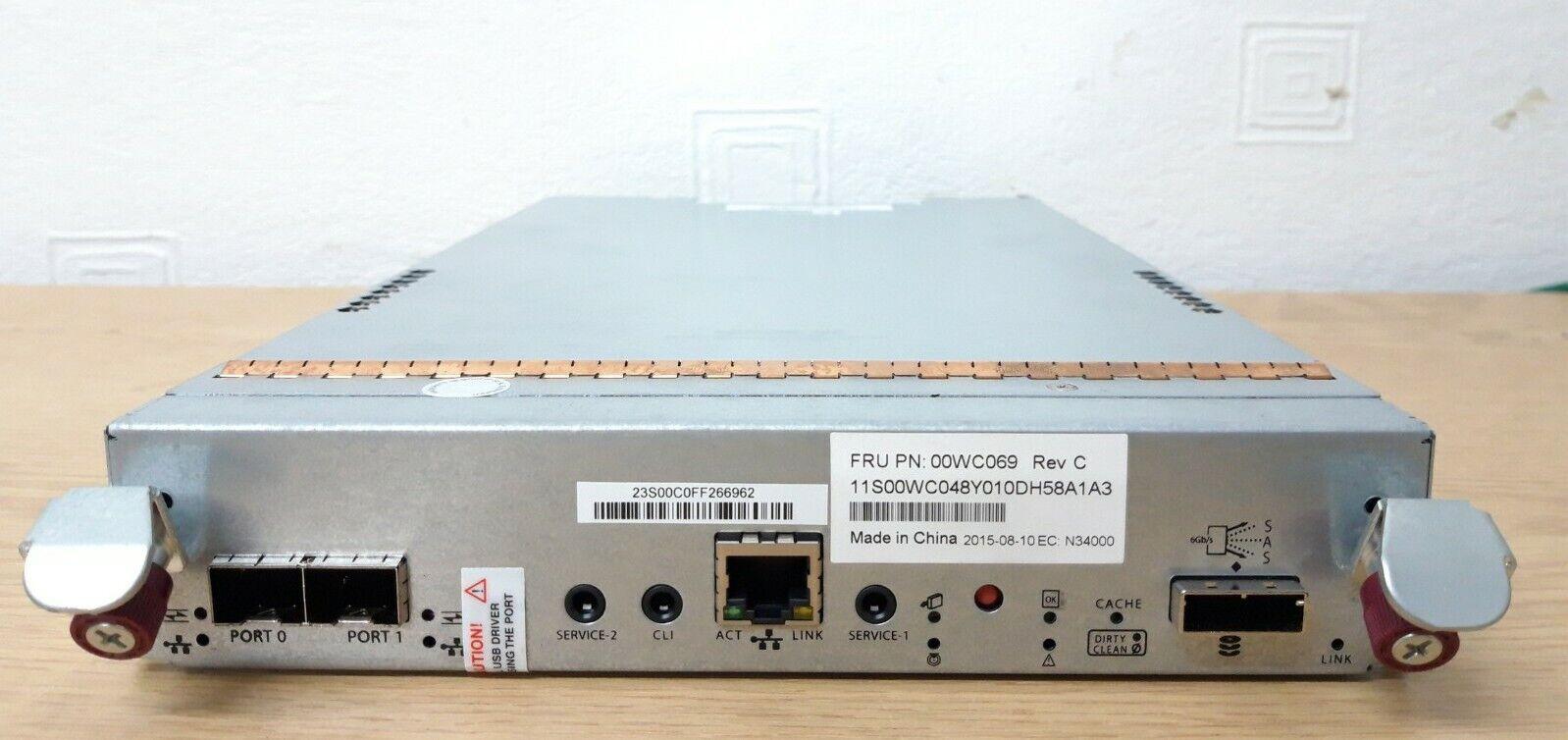 LENOVO STORAGE FC/ISCSI RAID CONTROLLER FOR S2200 00WC069 81-00000078-00-07