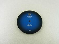 Original Rolex Cellini blaues rundes Zifferblatt blue dial vintage 27 mm
