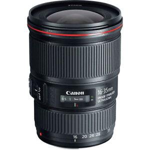 Canon EF 16-35mm f/4L IS USM Objetivo con Garantía
