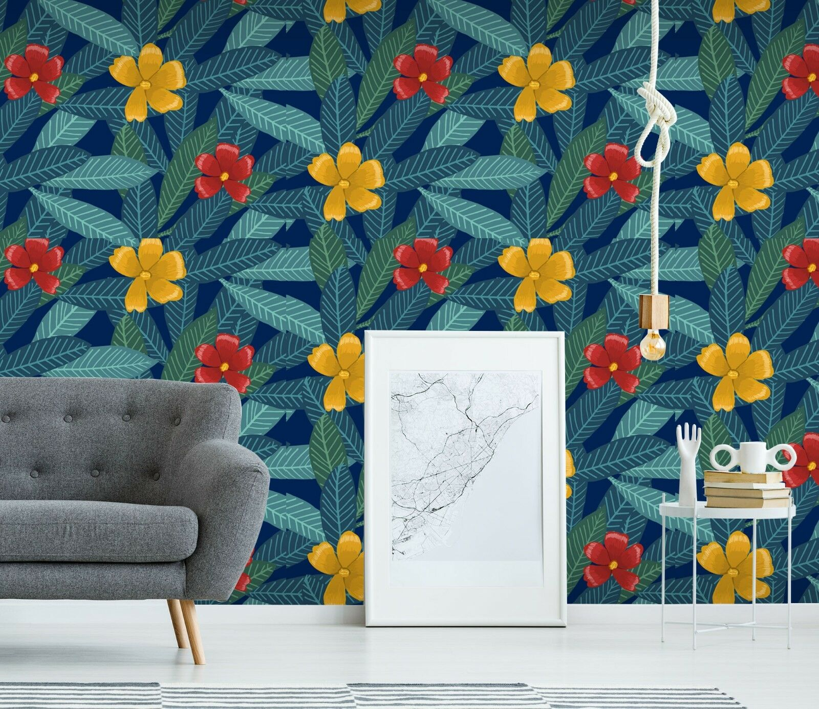 3D Nette bluemen Blätter 23 Tapete Wandgemälde Tapete Tapeten Familie Kinde DE