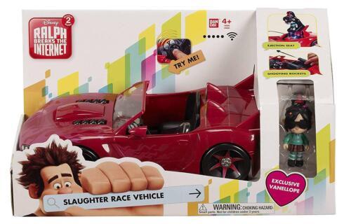 Wreck-it Ralph 36865 véhicule voiture et Vanellope Chiffre