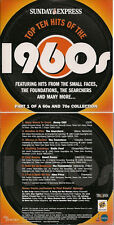 Top Ten Hts of the 1960's   Part 1 CD from The Sunday Express in card slv UK