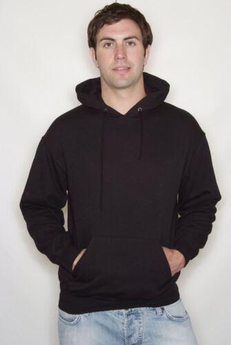 Fruit of the Loom Classic Hooded Sweatshirt Sweater Hoodie Jumper Plain Pullover