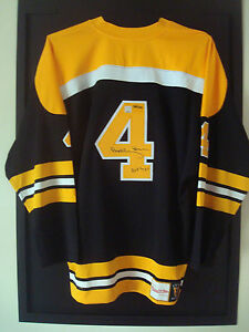 Bobby Orr Signed Boston Bruins HOF-79 Jersey GNR-COA LTD#/444