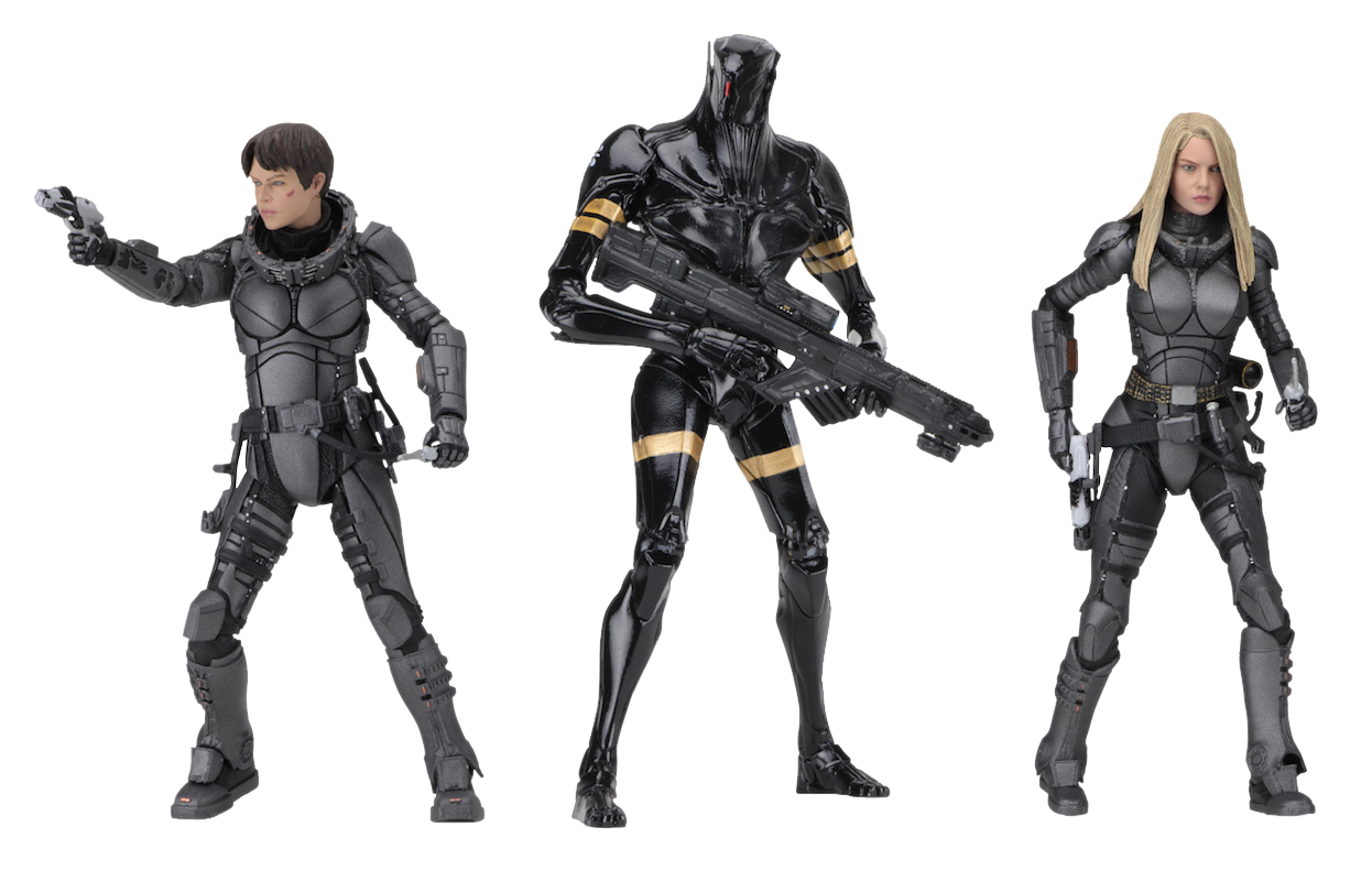 """Valerian and the City of a Thousand Planets - 7"""" Action Figures (Set of 3)"""