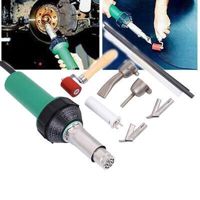 220V 1000W 2800Pa Plastic Vinyl Welder Integrated Hot Air Heat Gun Welding Set