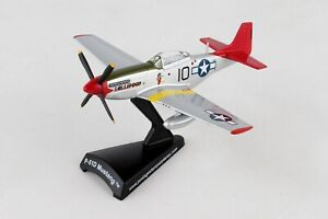 PS5342-7-POSTAGE-STAMP-NORTH-AMERICAN-P-51D-MUSTANG-TUSKEGEE-AIRMEN-1-100-MODEL