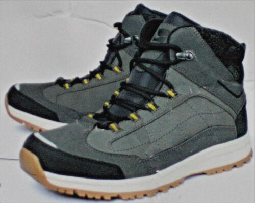 Herren Thermostiefel robuste Wanderschuhe Schuhe Gr.41 42 grau//beige NEU