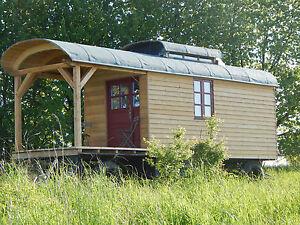 Ferienwohnung bauwagen zirkuswagen atelier b ro hausboot wohnwagen ebay - Bauwagen selber bauen ...