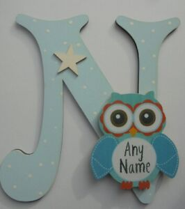 CERISE Cupcake Wooden Letter **ANY LETTER with ANY NAME** Available Personalised