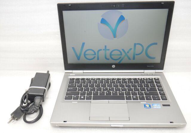 HP EliteBook 8470p intel Core i5 2.60GHz 8GB 500Gb Windows 10 x64 Camera DVD-RW