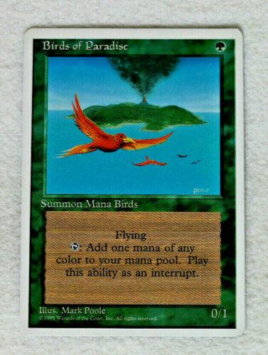 Birds of Paradise MTG Magic the Gathering 4th Edition NM-Mint