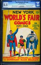 New York World's Fair 1940 CGC 6.5 Golden Age Key DC Comic L@@K