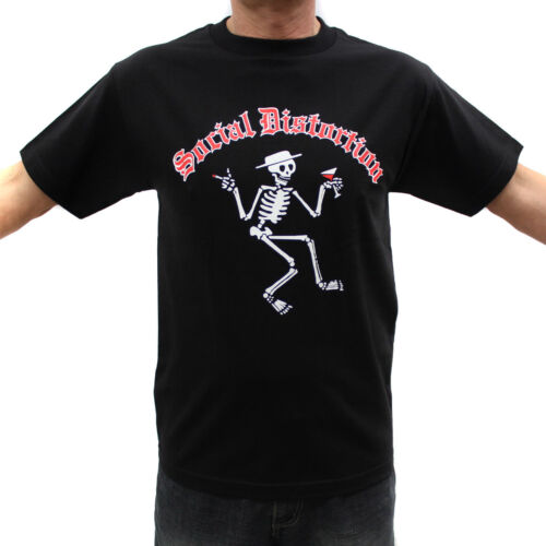 Rock Band Graphic T-Shirts Social Distortion Red Logo