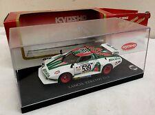 KYOSHO 1/43 Lancia Stratos Turbo  Gr5 ALITALIA  MUNARI/SODANO      BOXED