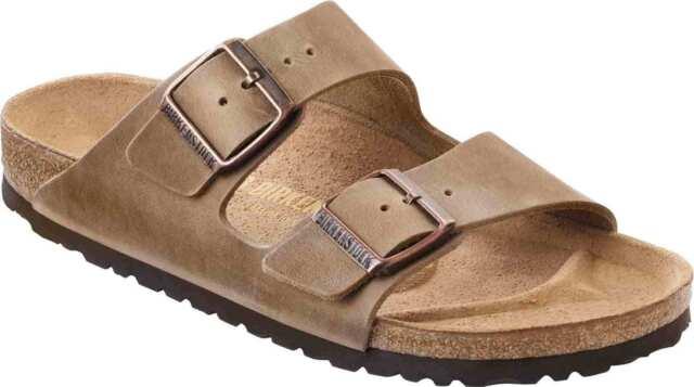Birkenstock Arizona Sandali Pantofole 352203 Stretto Marrone Tabacco Nuovo 0b148f61d19