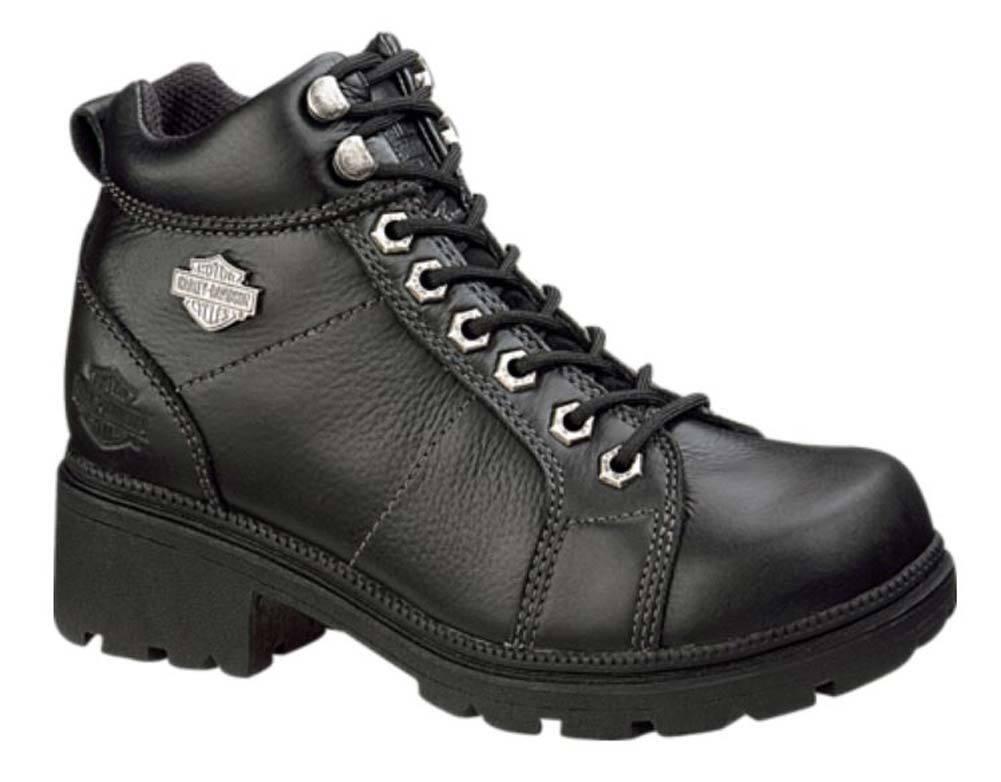 Harley-Davidson Women's Tyler 4-Inch Lace Chukka Boots, Black D84280