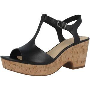 Details zu Clarks Maritsa Lara Women Damen Sandale Freizeit Sandaletten black 26141394