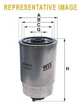 WIX FILTERS wf8398 Fuel Filtre rc516821p OE QUALITY