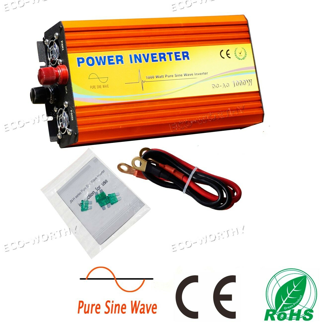 Solar Power Off Grid Inverter Wechselrichter 12V 24V -220V 1KW 1500W 3KW