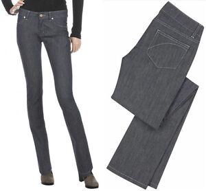 Slim Superfine Acier tiquette Rr Sur Coupe Jeans Pantalon Femmes Neuf Gris Avec qxOYR664