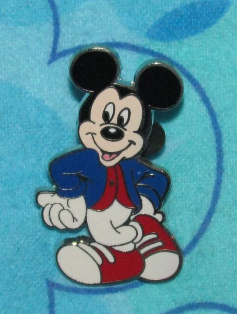 Disney Pin Mickey Mouse Cool Waiting