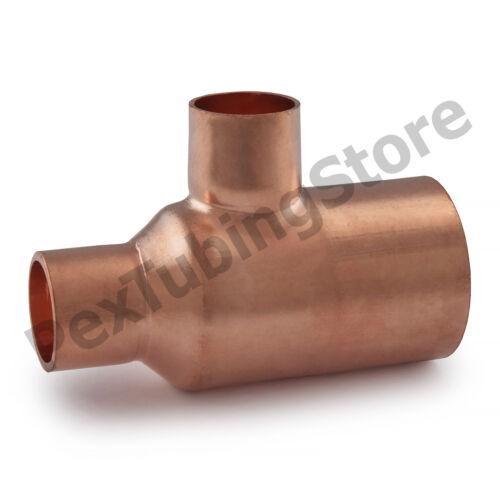 "1/"" x 1//2/"" x 1//2/"" Copper Tee"