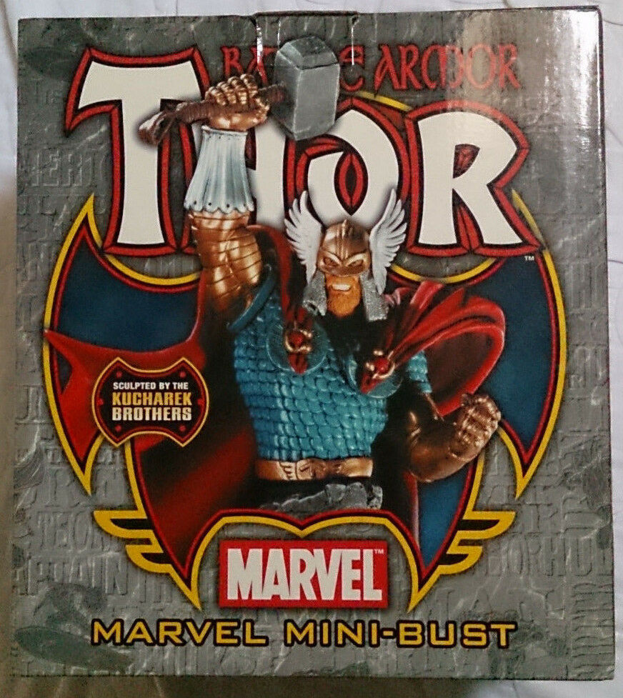 Marvel Comics Bowen BATTLE ARMOR THOR mini busto statua con scatola