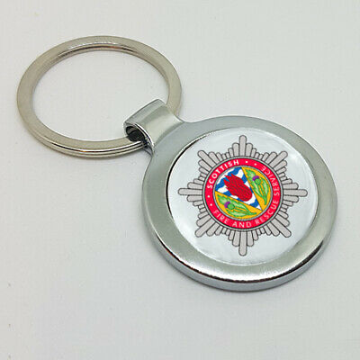 Scottish Fire and Rescue SFR A Great Gift Key Ring