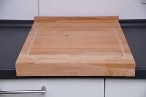 schneidebrett 57 5x41x2 8 cm tranchierbrett hackbrett holzbrett buche gro xxl ebay. Black Bedroom Furniture Sets. Home Design Ideas