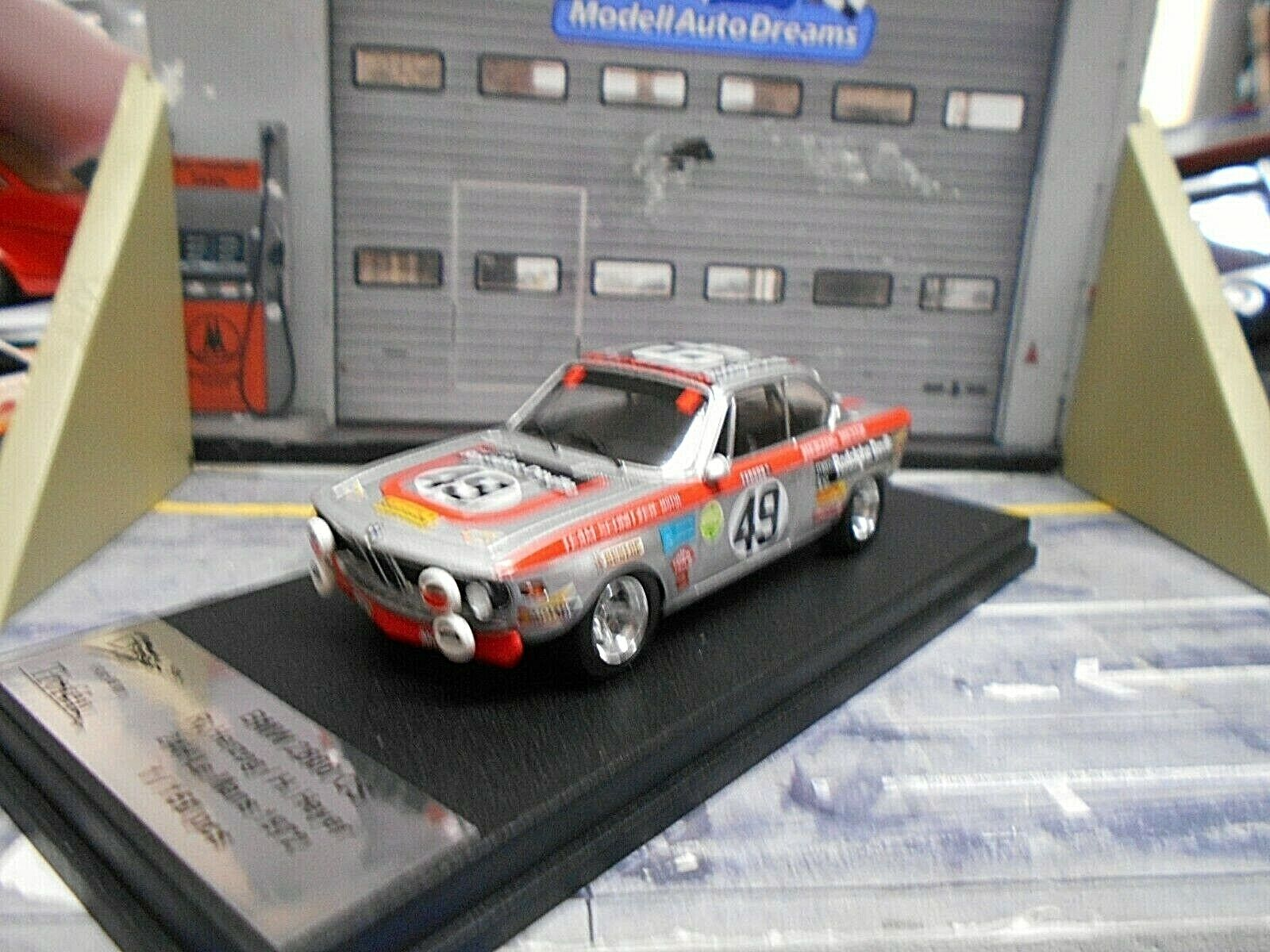 BMW 2800 CS Coupe 24h Le Mans 1972  49 Heyer Herzog Motul Schnitzer Trofeu 1 43