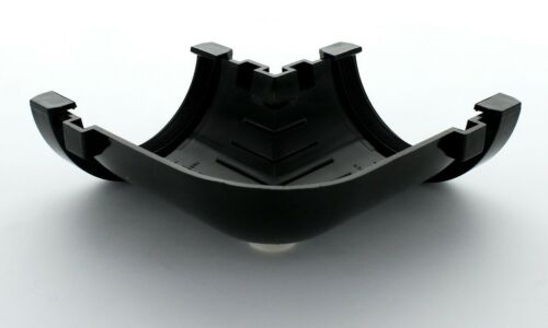 Hunter Half Round 76MM Gutter 90 DEGREE ANGLE VARIOUS COLOURS R029
