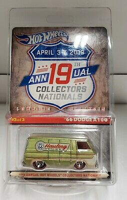 2019 Hot Wheels 19th Nationals Convention #3 Finale 66 Dodge A100 Van