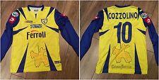 Maglia match worn shirt Chievo Verona calcio Giuseppe Cozzolino indossata