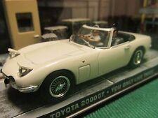 Colección Autos De James Bond 007 Toyota 2000 GT Roadster que sólo dos veces en vivo